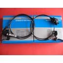 Hamulce hydrauliczne ,komplet Shimano Deore BR-M615  długość 100/170 BOX